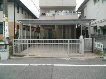 カーポート・門扉・フェンス 施工後