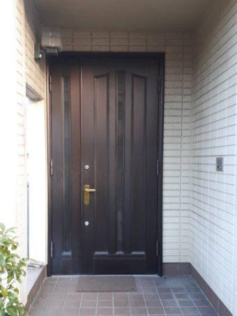 生まれ変わった「玄関ドア」